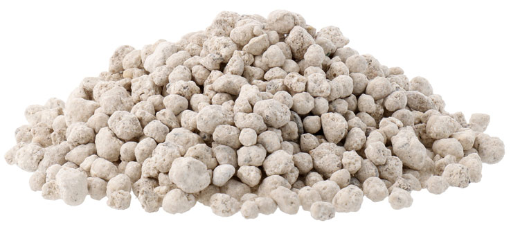 Granular fertilizer for surface application